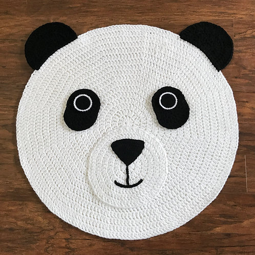 Panda Bear Nursery Rug