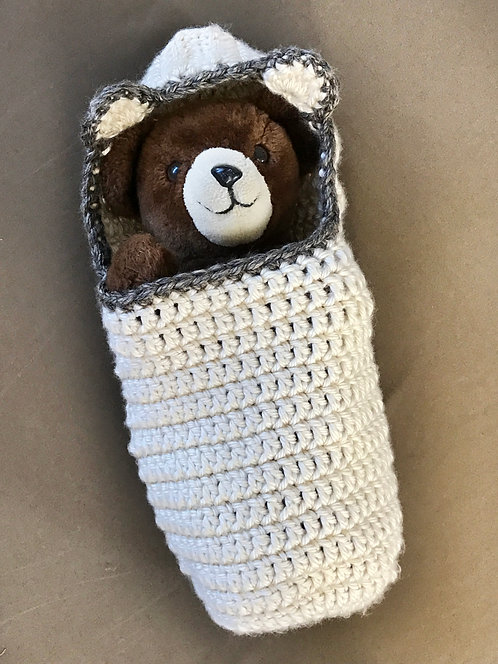 Chunky Bear Cocoon Pattern