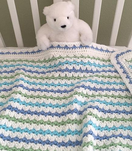 Del Mar Baby Blanket Pattern