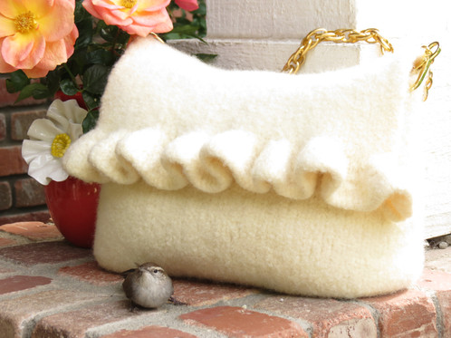 Clara Felted Purse