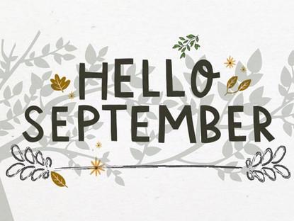 Hello September - KDC is BACK