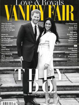 Vanity fair UK May issue