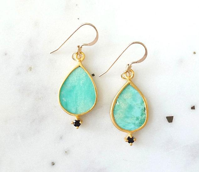 The Taji earrings (Amazonite)