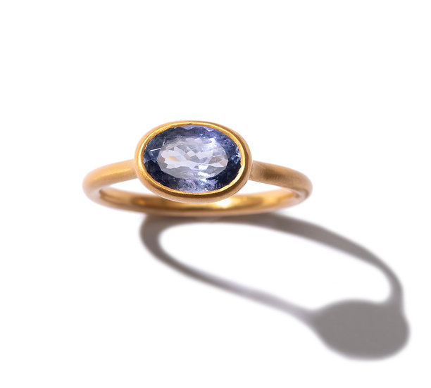 The Taji ring (Tanzanite)