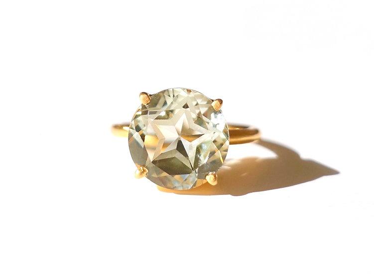 The Taji ring (Star Green Amethyst)
