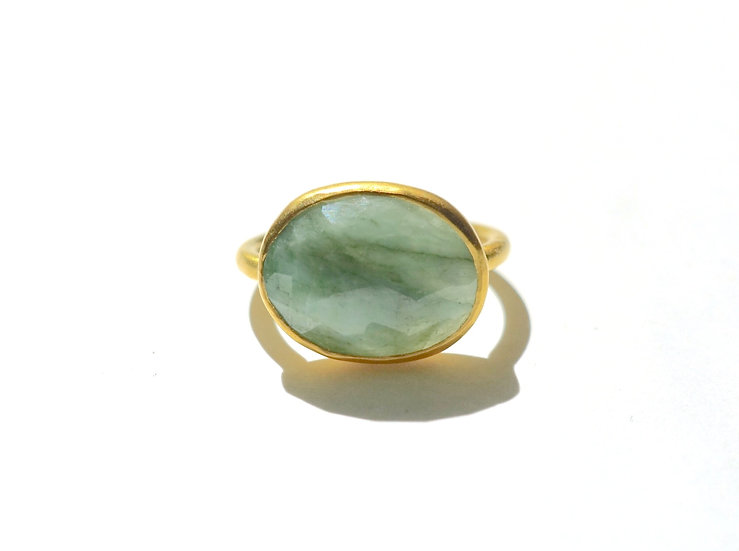 The Taji ring (Emerald)