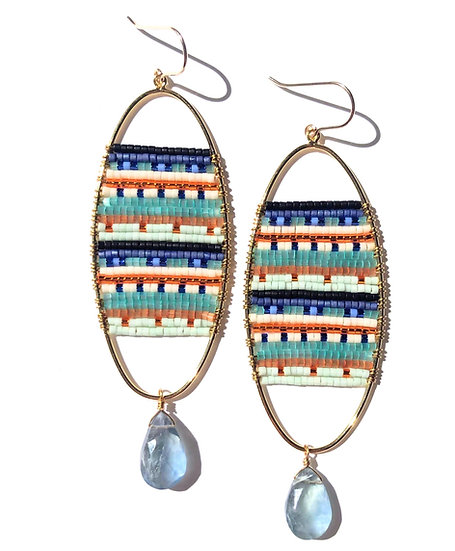 Signature Earrings (Large Oval)