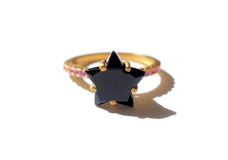 The Taji ring (Star Onyx)