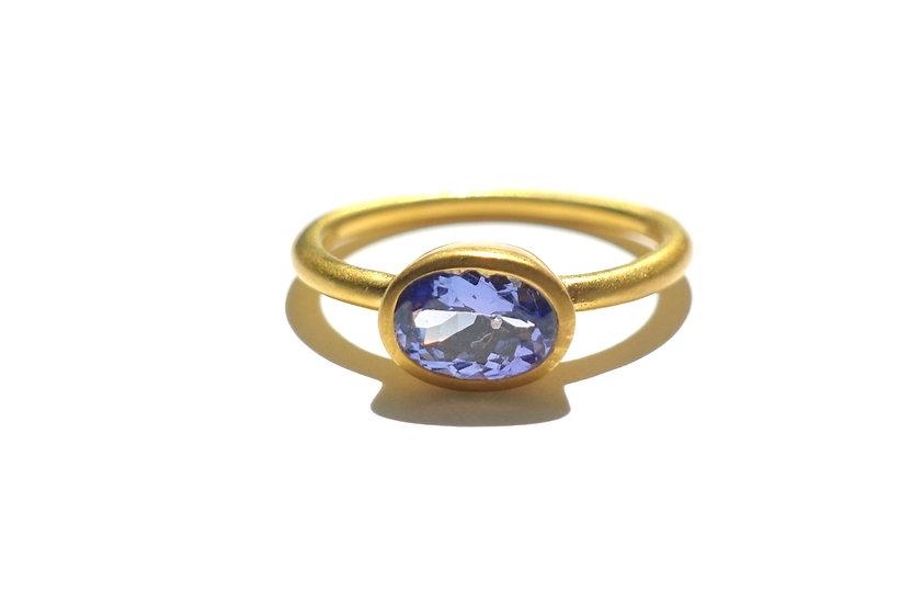 The Taji ring (Tanzanite)