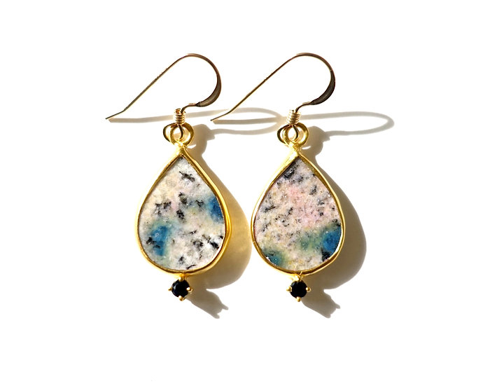The Taji earrings (K2 Jasper)