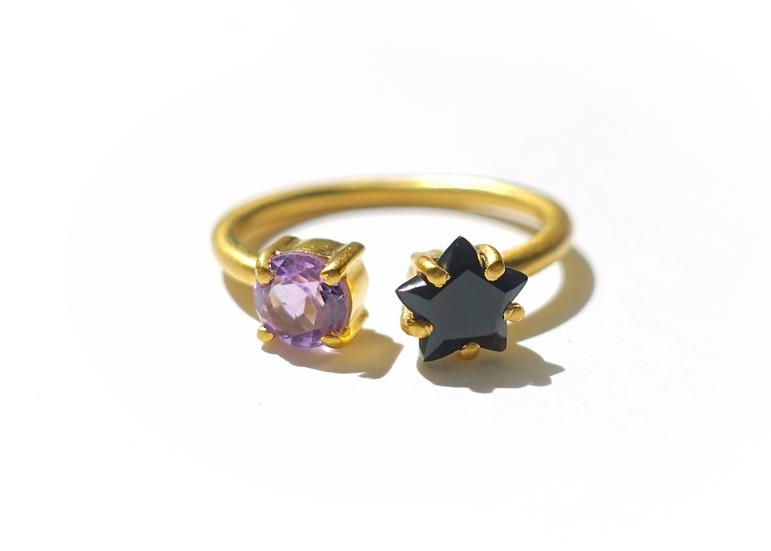The Taji ring (Black Onyx)