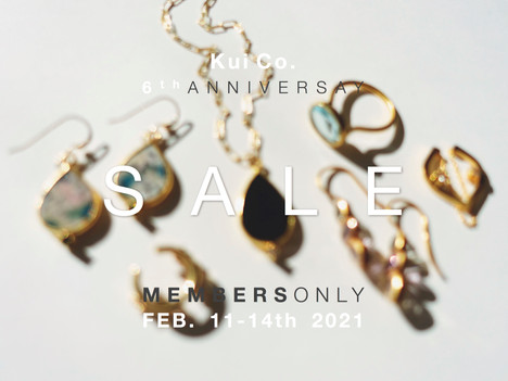 Invitation for Kui Co. 6th Anniversary Sale