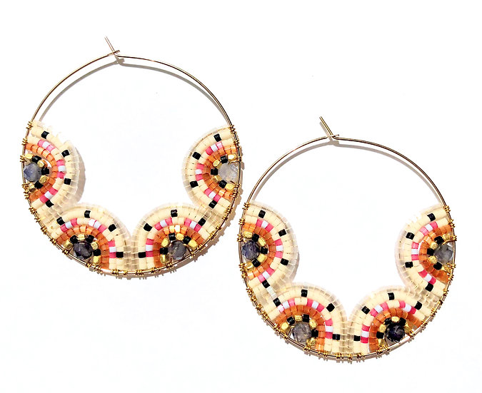 Signature Earrings (Large Circle)