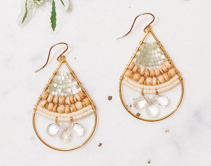 Oasis splash Drop earrings