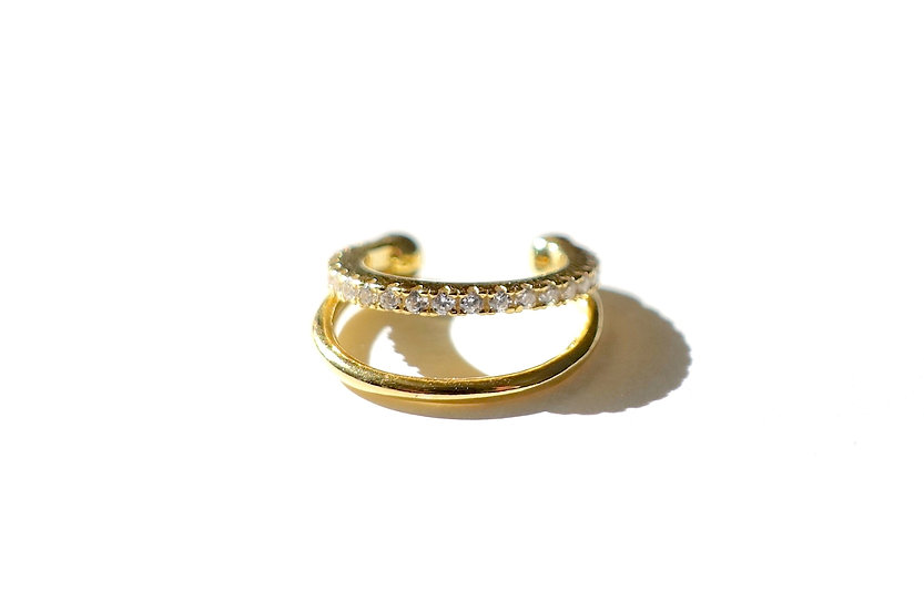 Limited collection: Ear cuff (Double ring)