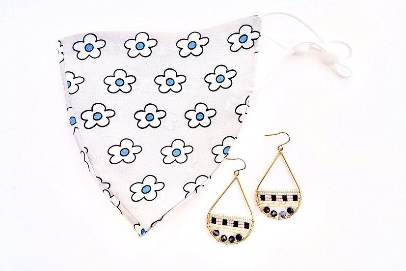 Mask + Signature Earrings (Drop)