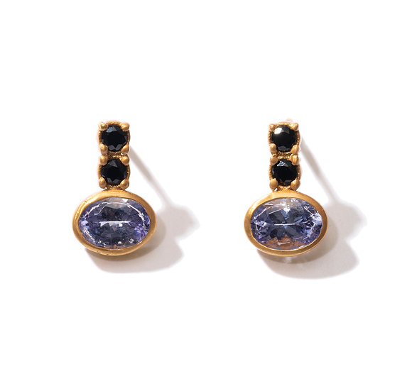 The Taji earrings (Tanzanite)