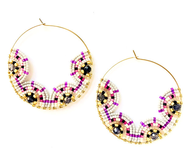 Signature Earrings (Large Circle)