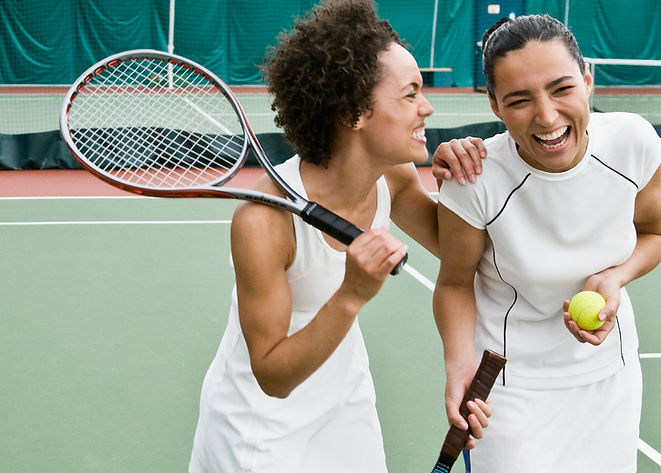 Les femmes de jouer au tennis