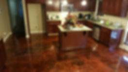 B.A.G. Remodelers Stained Concrete 1