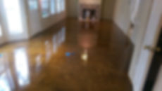 B.A.G. Remodelers Stained Concrete Floor 1