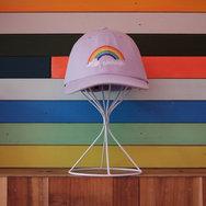 Lilac Rainbow Hat