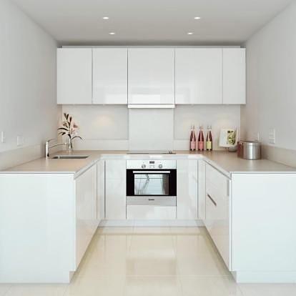 Small kitchen - negative space