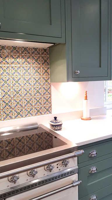 In-frame kitchen Altrincham