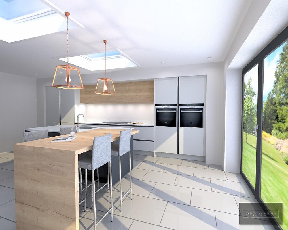 A Helium Kitchen Design