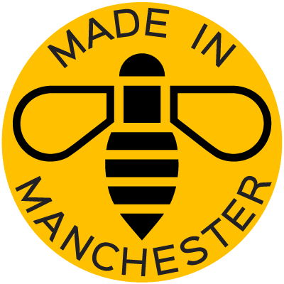 All our kitchens are proud to carry the Made in Manchester badge