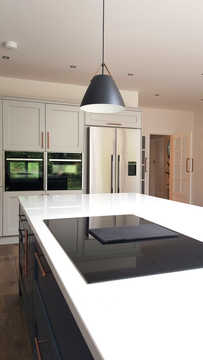 Elica Prime induction & extraction hob