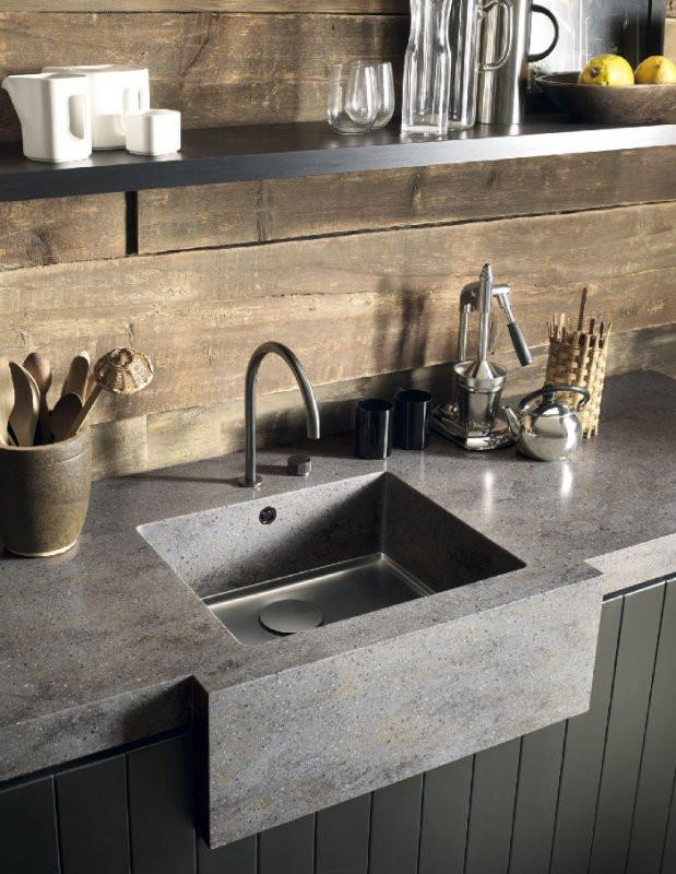 Seamless Corian Sink
