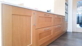 Oak shaker kitchen