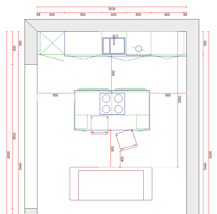 Kitchen island layouts & advice Manchester