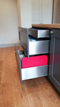 Stainless steel drawer boxes