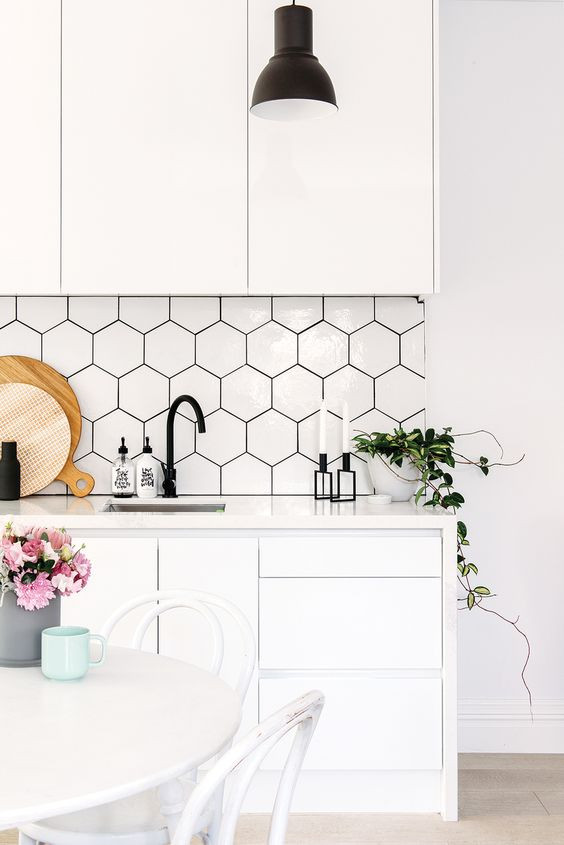 On trend splashback
