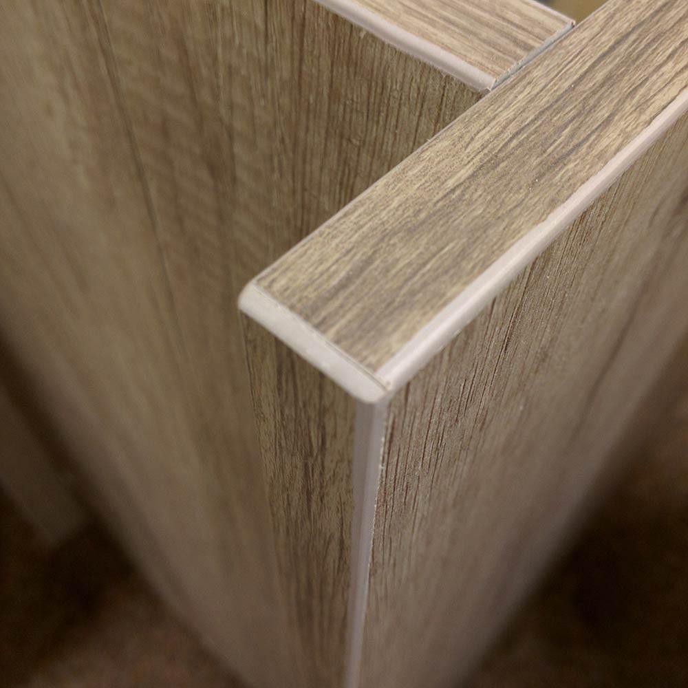 Kitchen Design | 2mm PVC edging | Strong & moisture resistant.