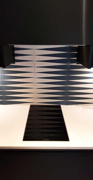 Domino induction hob