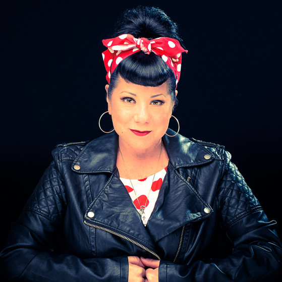 commercial-branding-photography-portrait-writer-inspiration-black-leather-polka-dots.jpg