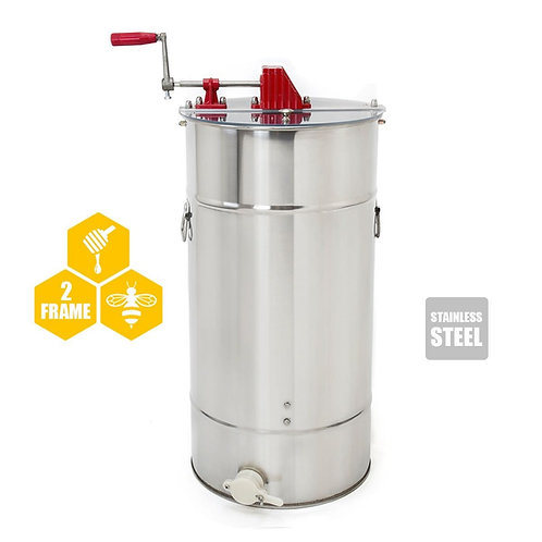 Honey Extractor Large 2 Frame Stainless Steel Extractor tank