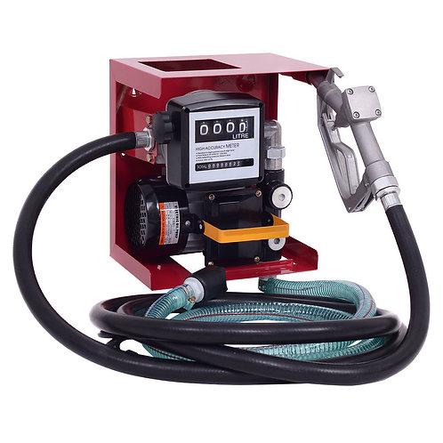 110V Electric Diesel Oil Fuel Transfer Pump w/ Meter +13' Hose & NozzlE