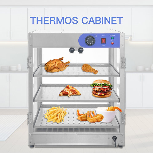 HOT FOOD - PIZZA DISPLAY WARMER - BRAND NEW -  FREE SHIPPING