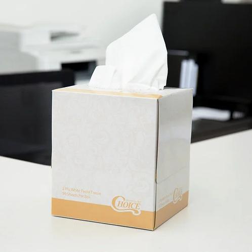 2-Ply Facial Tissue Cube - 36/Case - FREE LOCAL SHIPPING