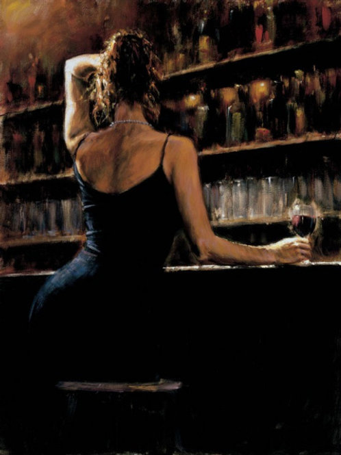 Fabian Perez Art oil Painting on Canvas - Reproduction home wall decor