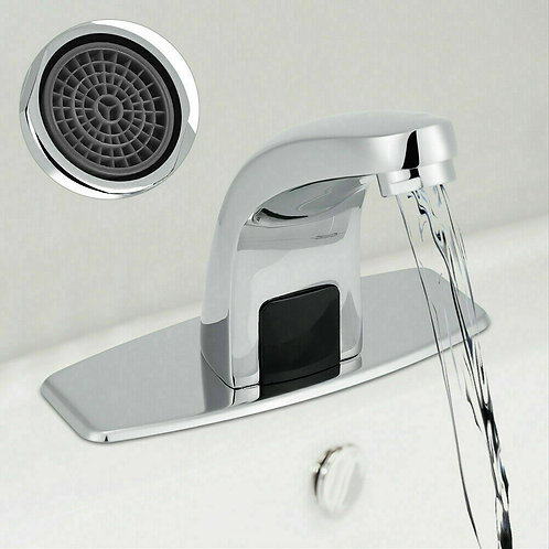 Automatic Infrared Sensor Touchless Faucet Hands Free Bathroom Vessel Sink Tap