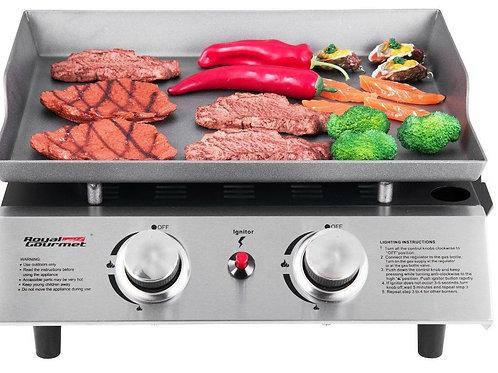 "17.6"" flat top propane grill"
