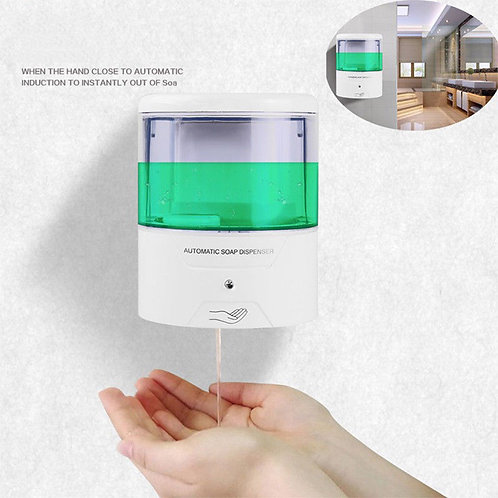 600ml-ABS-Plastic-Wall-Mount-Automatic-IR-Sensor-Touch-free-Soap-Dispenser