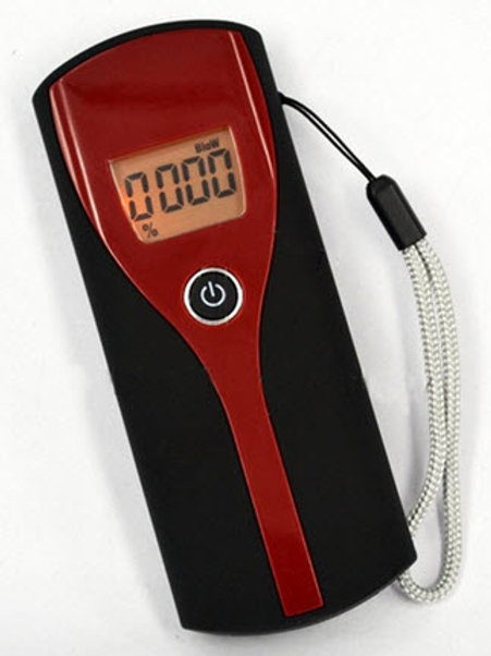 Professional Digital Breath Alcohol Tester Easy To Use Breathalyzer