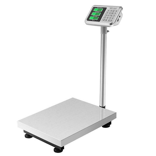 660LB WEIGHT - COMPUTING SCALE - DIGITAL - FLOOR - PLATFORM - WAREHOUS - POSTAL