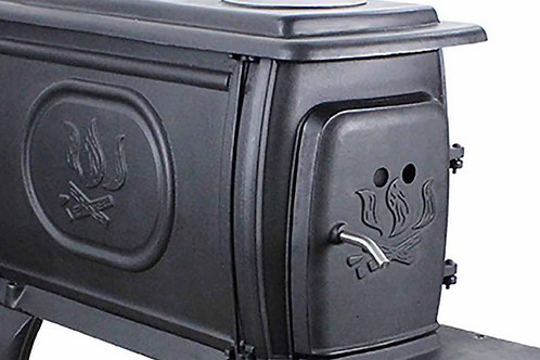 Cast Iron Wood Stove - 900 sq. feet -